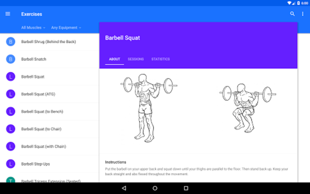 Progression Workout Tracker screenshot 12