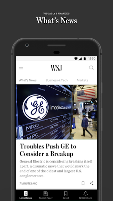 The Wall Street Journal: Business & Market News screenshot 1