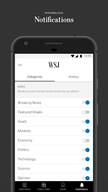 The Wall Street Journal: Business & Market News screenshot 4