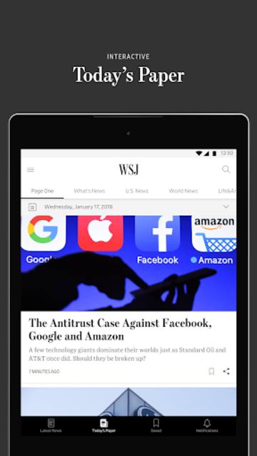 The Wall Street Journal: Business & Market News screenshot 12