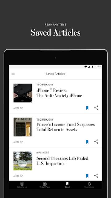 The Wall Street Journal: Business & Market News screenshot 13