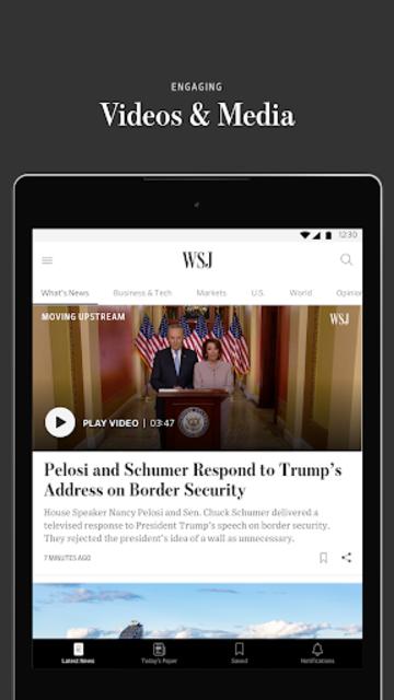 The Wall Street Journal: Business & Market News screenshot 15