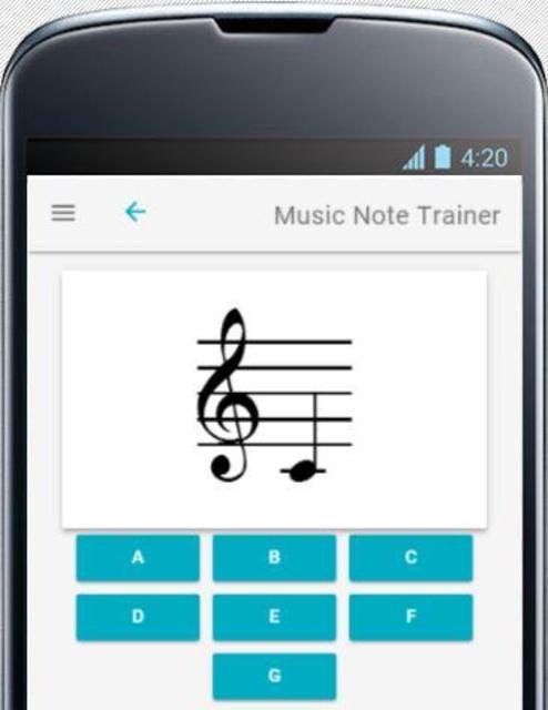 Music Note Trainer screenshot 1