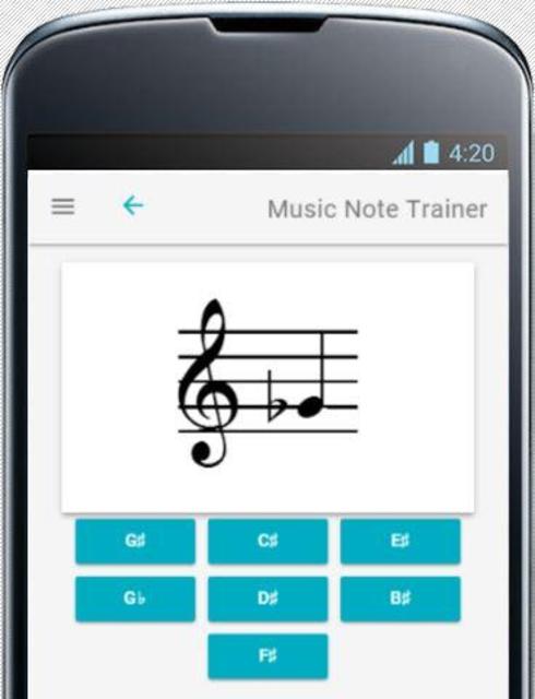 Music Note Trainer screenshot 2