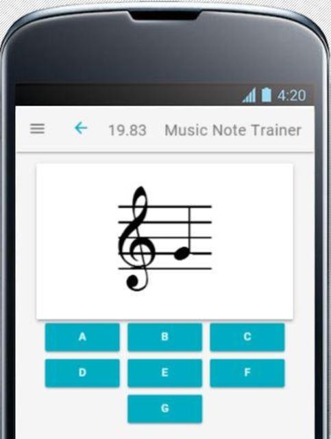 Music Note Trainer screenshot 4