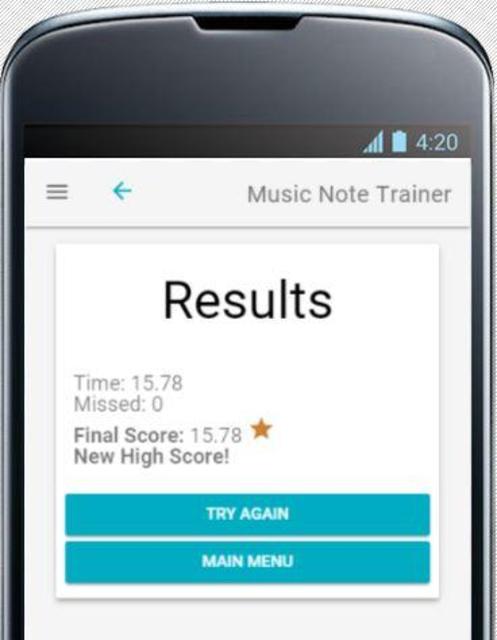 Music Note Trainer screenshot 5