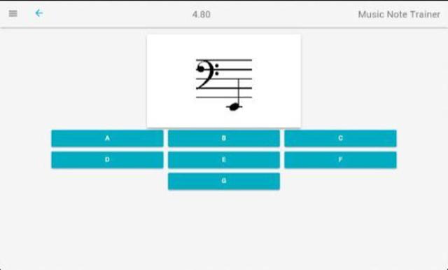Music Note Trainer screenshot 6