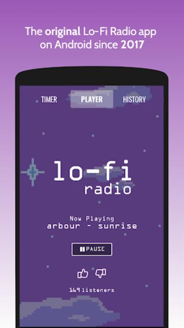Lo-Fi Radio - Work, Study, Chill screenshot 1