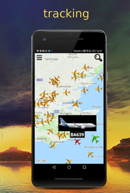 Plane Radar - Flight tracker screenshot 1