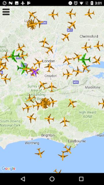 Plane Radar - Flight tracker screenshot 2