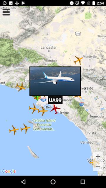Plane Radar - Flight tracker screenshot 3