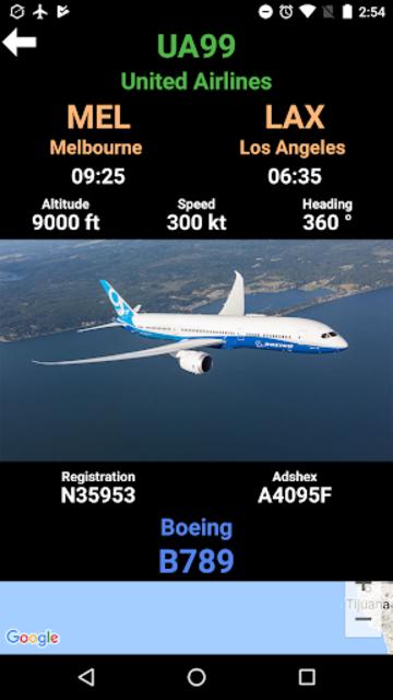 Plane Radar - Flight tracker screenshot 4