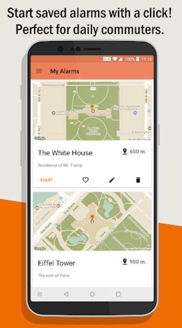 Naplarm - Location Alarm / GPS Alarm screenshot 7