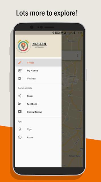 Naplarm - Location Alarm / GPS Alarm screenshot 8
