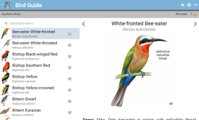 Roberts Bird Guide 2 screenshot 11