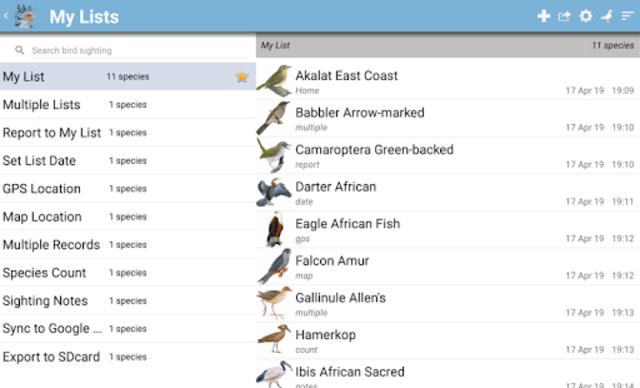 Roberts Bird Guide 2 screenshot 21