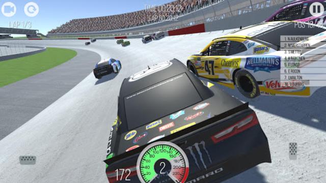Outlaws - American Stock Car Racing 3D screenshot 1