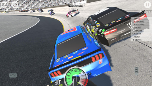 Outlaws - American Stock Car Racing 3D screenshot 3