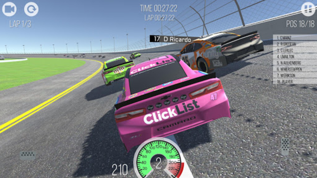 Outlaws - American Stock Car Racing 3D screenshot 7