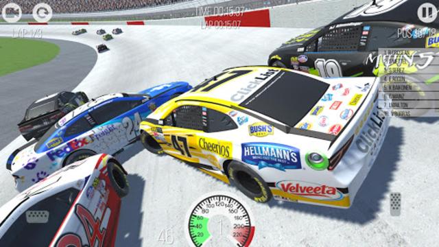 Outlaws - American Stock Car Racing 3D screenshot 8