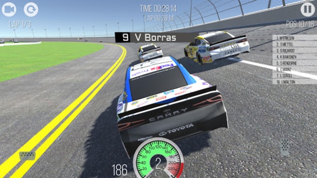 Outlaws - American Stock Car Racing 3D screenshot 11