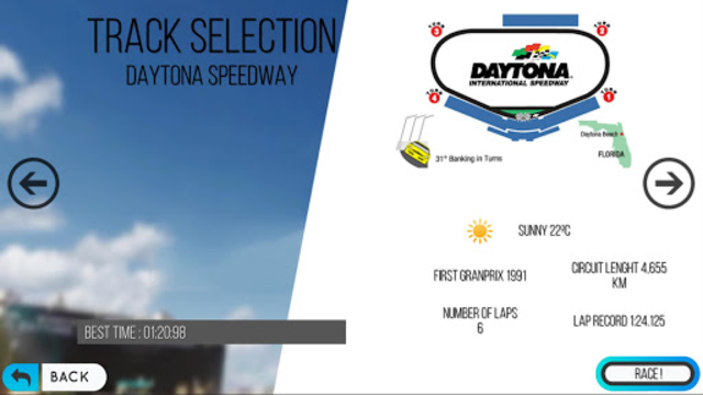 Outlaws - American Stock Car Racing 3D screenshot 12