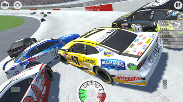 Outlaws - American Stock Car Racing 3D screenshot 15