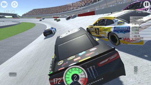 Outlaws - American Stock Car Racing 3D screenshot 17