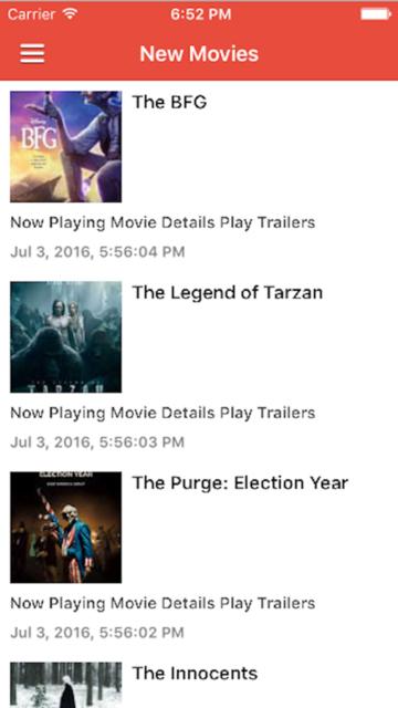 Popcorn Time - Movie Reviews screenshot 3