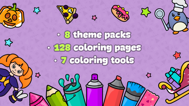 Drawing for kids: doodle games screenshot 6