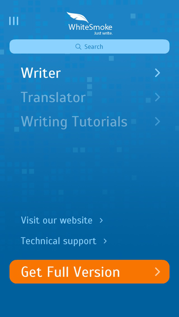 WhiteSmoke Writing Assistant screenshot 2