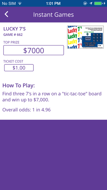 Tennessee Lottery Official App screenshot 8
