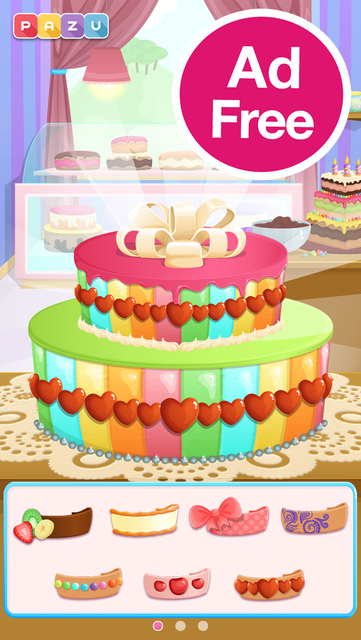 Cake games for toddlers screenshot 6