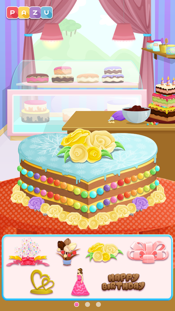 Cake games for toddlers screenshot 7