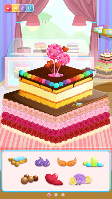 Cake games for toddlers screenshot 8