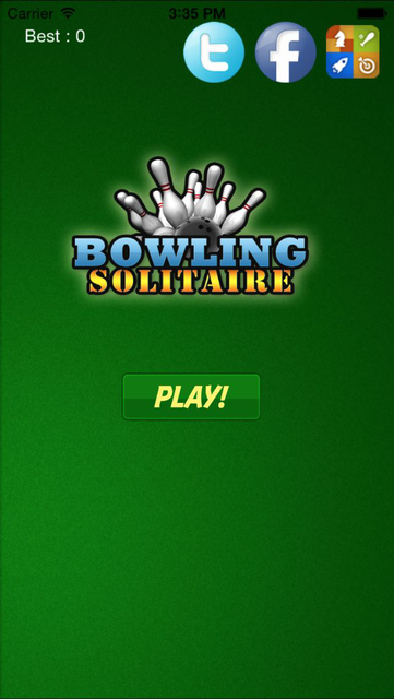 Solitaire Blast Bowling 3d - My Green City Arena Pro screenshot 2