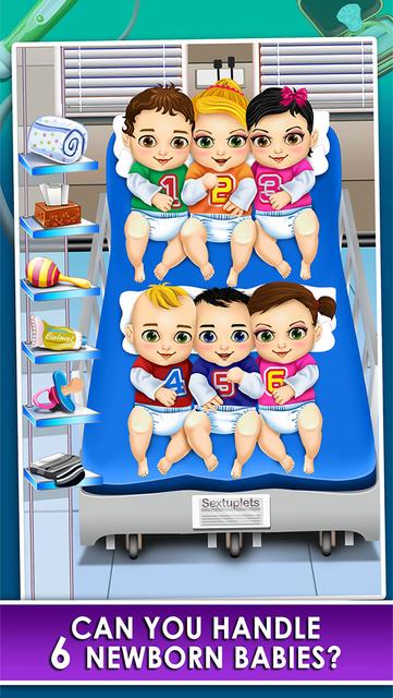 Mom's Doctor Spa Makeover Salon Kid Game screenshot 6
