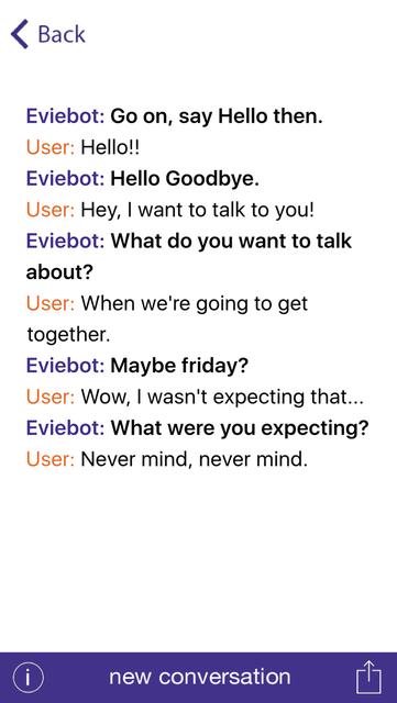 Eviebot screenshot 3