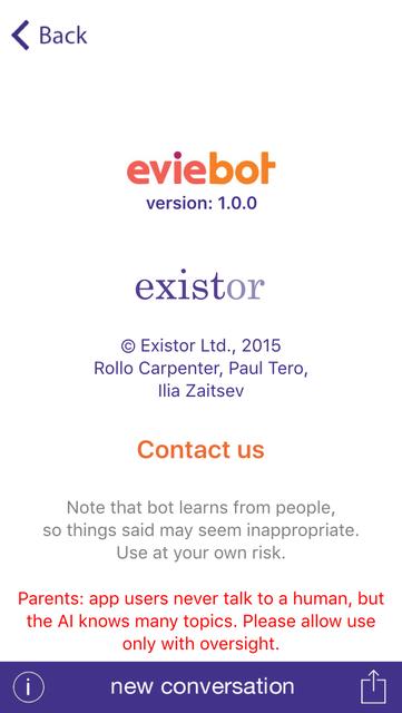 Eviebot screenshot 4