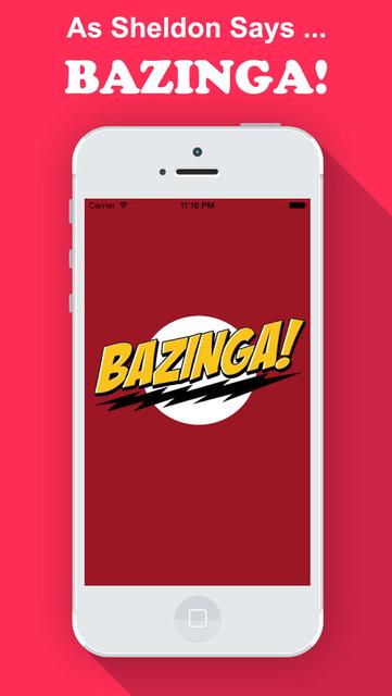 Bazinga! for Big Bang Theory Fans Edition screenshot 1