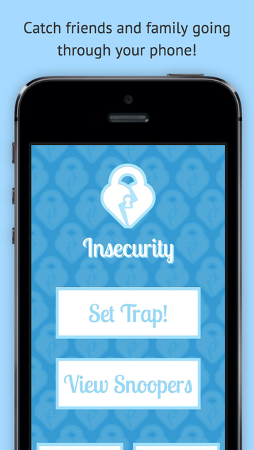 Insecurity - Phone Security screenshot 1