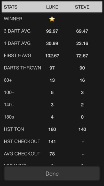 X01 Darts Scoreboard screenshot 4