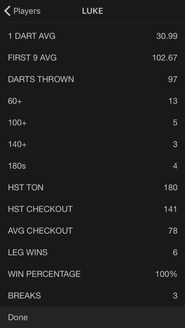 X01 Darts Scoreboard screenshot 5