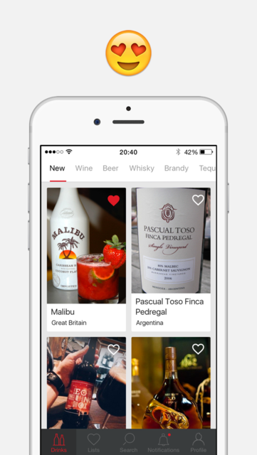 Corkly – alcoholic drinks recommendations and reviews on wine, beer, whisky screenshot 1