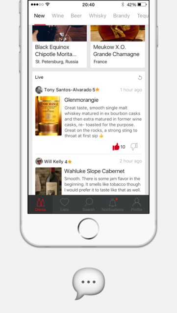 Corkly – alcoholic drinks recommendations and reviews on wine, beer, whisky screenshot 2