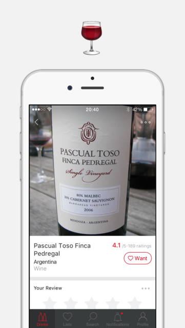 Corkly – alcoholic drinks recommendations and reviews on wine, beer, whisky screenshot 3