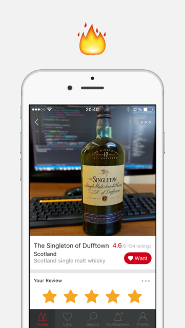 Corkly – alcoholic drinks recommendations and reviews on wine, beer, whisky screenshot 5