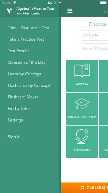 Algebra 1 Practice & Prep screenshot 1