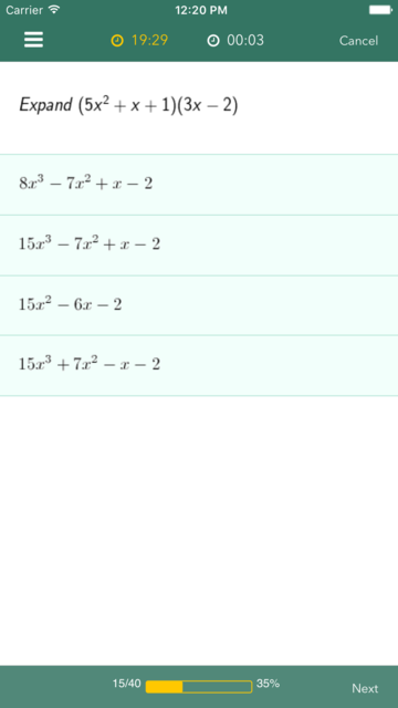 Algebra 1 Practice & Prep screenshot 3
