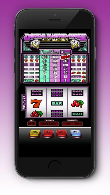 Double Diamond Crush Slot machine screenshot 3
